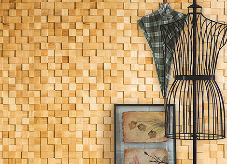 DECORATIVE INTERIOR WALL COVERINGS
